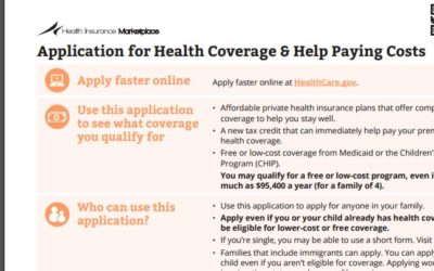 How Do I Apply for Health Insurance Through the Marketplace?